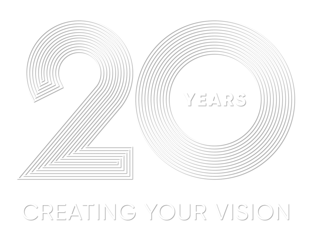 20 Years Creating Your Vision